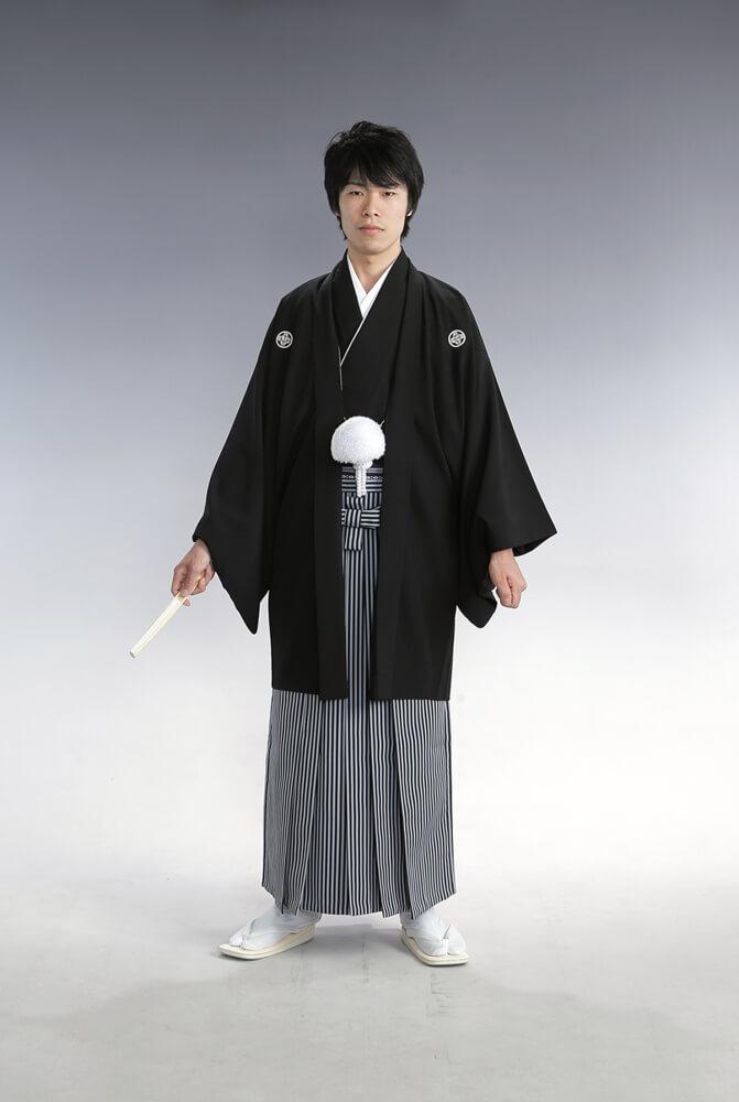紋付袴 黒